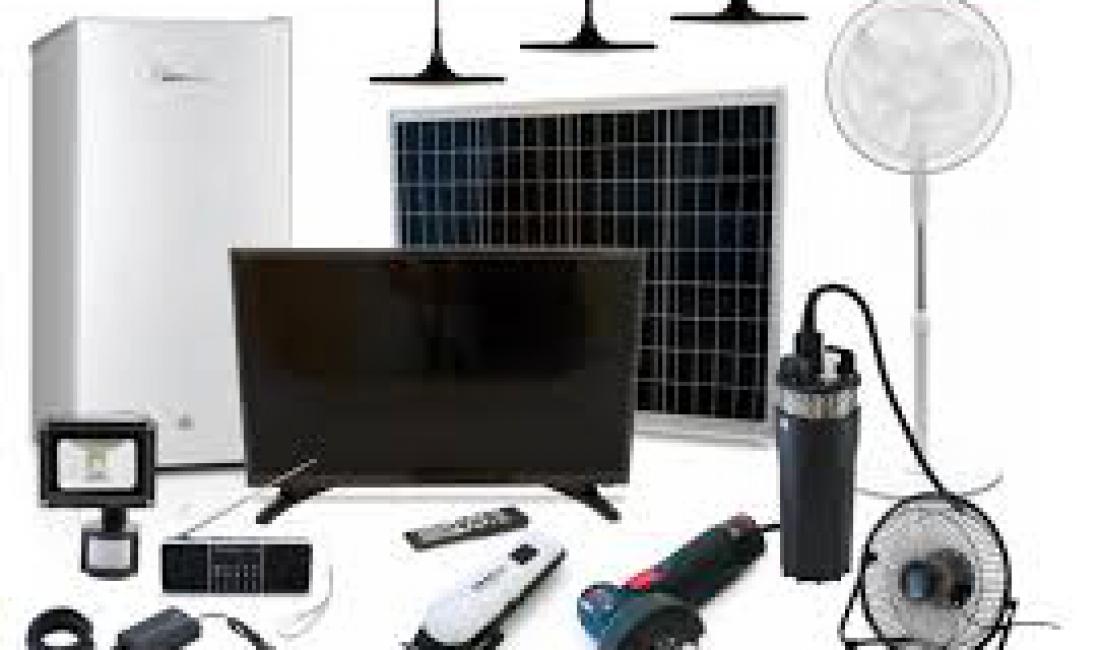 Solar Pump, Fridge